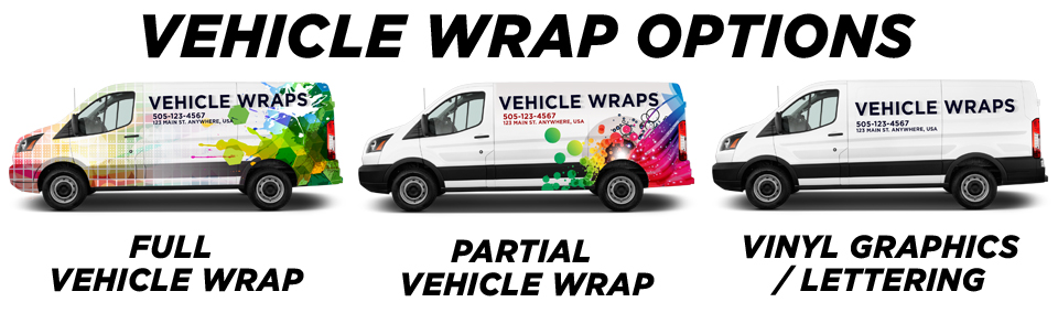Slater Vehicle Wraps vehicle wrap options