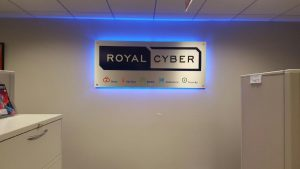 Greenville Lighted Signs Royal Cyber Indoor Lobby Sign Backlit 300x169