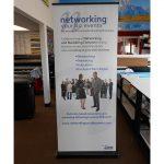Greenville Trade Show Displays banner vinyl tradeshow retractable indoor 150x150
